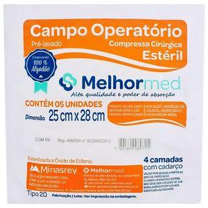 Campo Oper. Est 25X28 C/5 Melhor Med